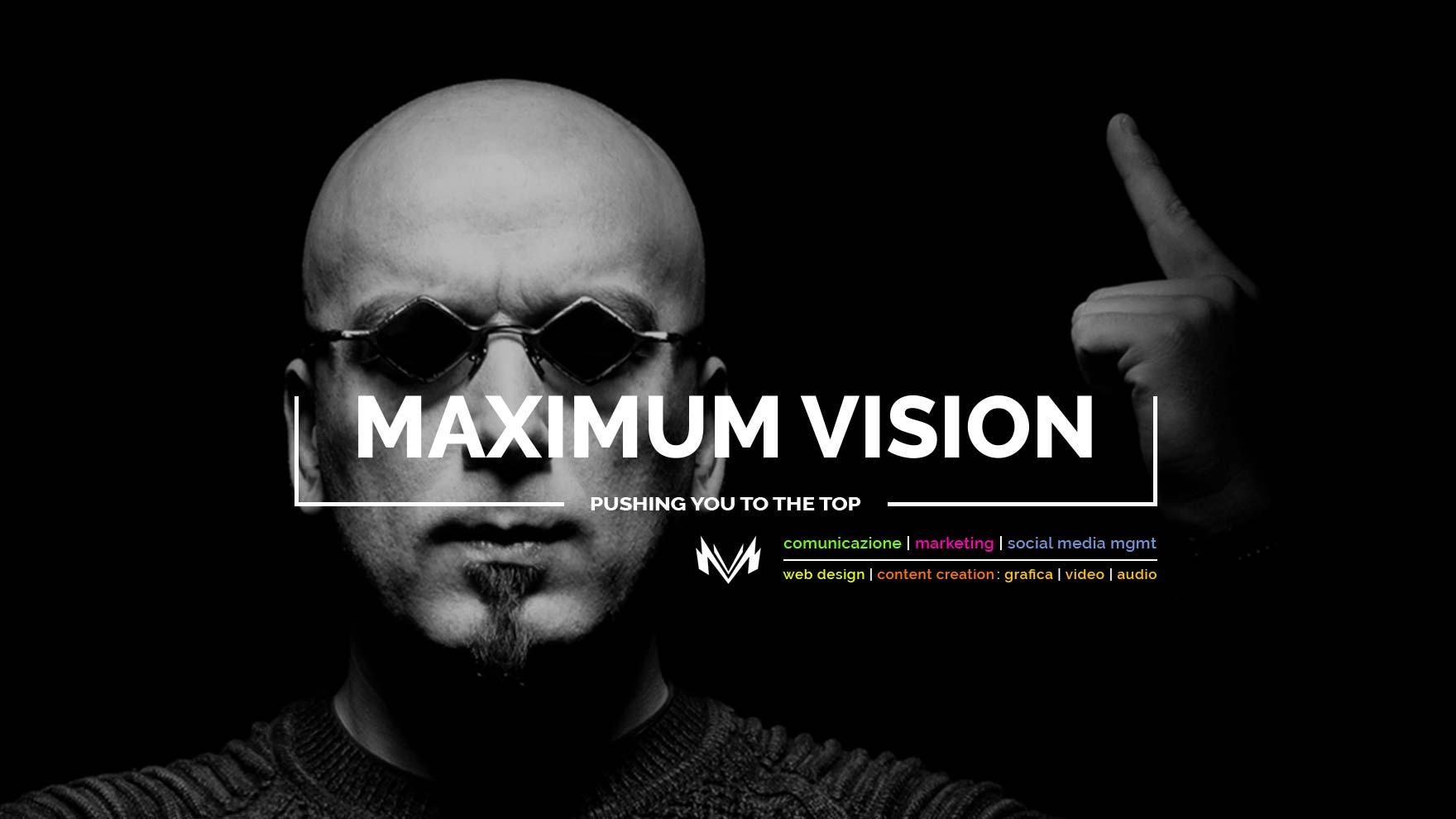 Maximum Vision • Web Agency